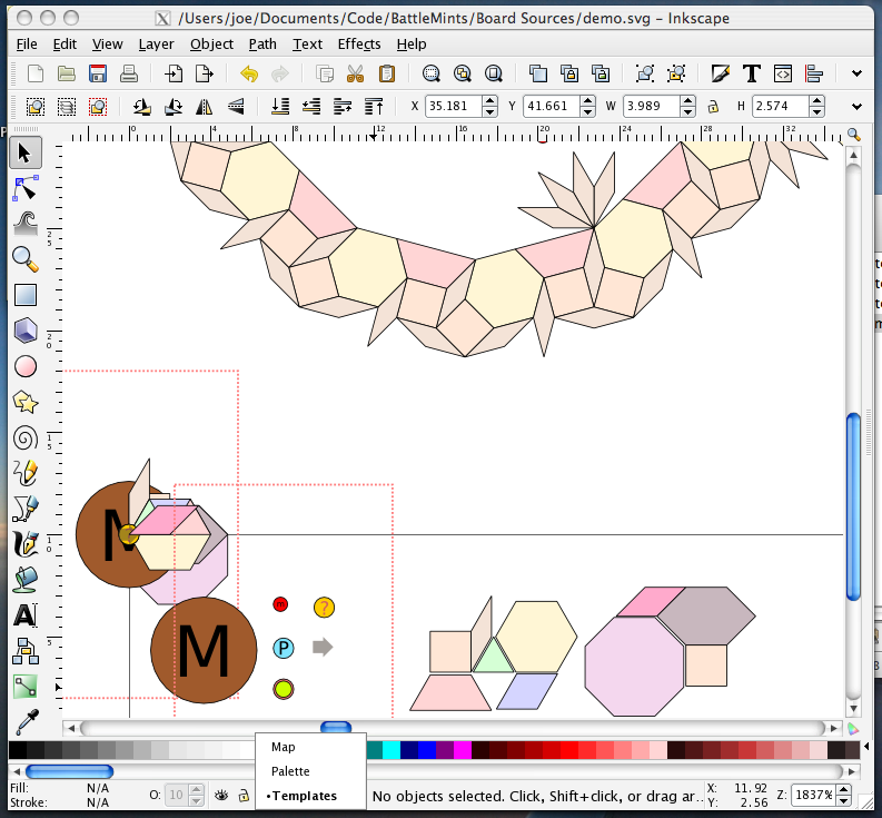 Using Inkscape As A Map Editor